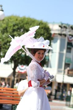 Get my picture taken with Mary Poppins - Disneyland