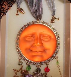 Kirks Folly Harvest Seaview Moon Halloween Wind Chime Limited Edition RARE!! #KirksFolly