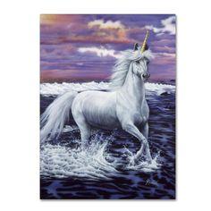 Jenny Newland 'Unicorn' Canvas Art