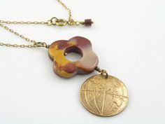 World Map Necklace World Globe Necklace with by WedunitJewels