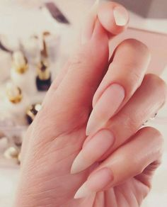 Image discovered by Mayjya. Find images and videos about girl, fashion and style on We Heart It - the app to get lost in what you love. Goth Nails, Sky Nails, Pink Nails, Matte Stiletto Nails, Shellac Nails, Glitter Nails, Long Natural Nails, Natural Almond Nails, Long Almond Nails