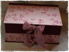 Caja joyero en rosa