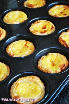 Frills in the Hills: Sunday baking project - totally cheating portuguese tarts