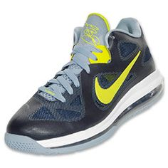 The Nike LeBron 9 Low Men's Basketball Shoes give you the full-court advantage. The shoes feature highly breathable hyperfuse construction so your feet stay cool and dry when you heat things up, lockdown tab and air max cushioning for superior comfort. The low-profile shoes allow full range of movement so you can take it to the bank!