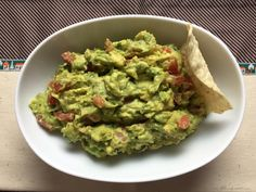 Perfect Chunky Guacamole Recipe
