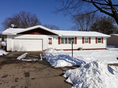 2531 Diane Lane, Eau Claire, WI 54703. 3 Bedrooms, 1 Full Bath, 1 Half Bath, 2 Car Attached Garage. $159,900.  Easy to live in 1 story home located on a dead-end street! Terrific location on north side offering a nice back yard with plenty of room for entertaining your friends and family.