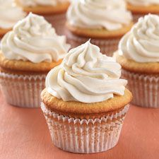 Ultra-Vanilla Cupcakes with Easy Vanilla Frosting: King Arthur Flour