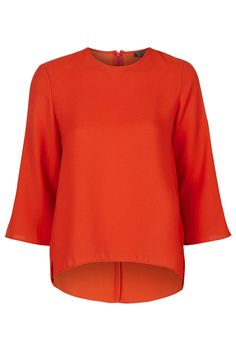 Long Sleeve Side Split Top - Topshop Europe