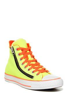 Converse | Chuck Taylor Unisex Double Zip High Top Sneaker | Nordstrom Rack   #streetstyle