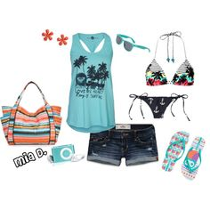 """Perfect Sunny Day :)"" by misssglamour on Polyvore"