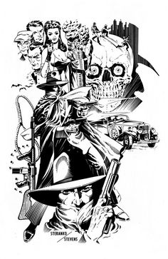 SPACESHIP ROCKET : The Shadow by Jim Steranko and Dave Stevens #shadow