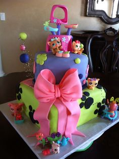 Littlest Pet Shop cake | Flickr - Photo Sharing!