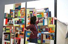 Denyse Schmidt's Improvisational Patchwork Workshop  -True Up