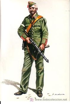 The Guardia Civil, a para-military police force which found itself split in its allegiance at the outbreak of the Spanish Civil War. Its estimated that a little over half of the Guardia claimed themselves for the Republican cause to which they removed their old uniform, as, to them, it was a symbol synonymous with the rebels.The remainder of the Guardia Civil were quite active during the opening stages of the war (especially in the outlying rural areas) and were always considered staunch…