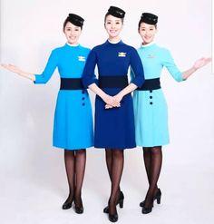 【China】 Xiamen Airlines cabin crew / 厦門航空 客室乗務員 【中国】 Xiamen, Cabin Crew, Photo And Video, Instagram, Fashion, Moda, Fashion Styles, Fashion Illustrations