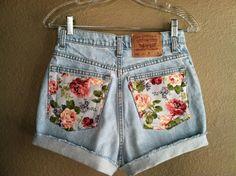 floral bum, so cute!
