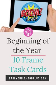 Creative Curriculum Beginning of the Year BOOM Card Number Distance Learning Inclusion Classroom, Math Classroom, Classroom Activities, Classroom Ideas, Teaching Strategies Gold, Learning Resources, Preschool Teachers, Math Assessment, Creative Curriculum