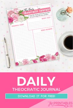 A Daily Journal for
