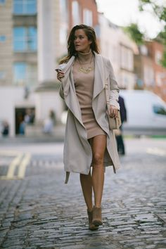 Sweater dress and ne