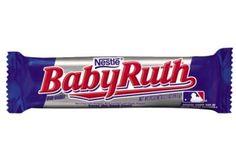 Nestlé, BABY RUTH: My God! det här är en bar som ger jordnötsälskaren våta drömmar. Seg fudge omgiven av stora knapriga jordnötsbitar. Mäktig som sjutton! 5/5