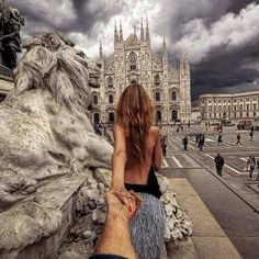 Following Your Girlfriend Around the World--From the View Behind the Lens