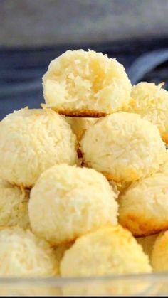 Coconut Cookies | Biscoito de Coco ~ Receita | Tastemade