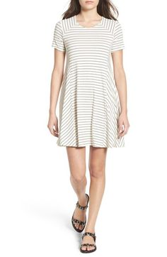 Lush Paneled Shift Dress available at #Nordstrom