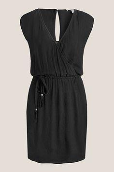 Esprit / Soepele jurk met crinkle look
