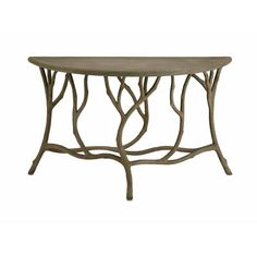 Hidcote Console Table Currey Company Console/Sofa Tables Accent Tables Living Room Furnitu