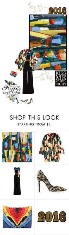 """Kiss me at Mid-Night"" by chathurika-gamage ❤ liked on Polyvore featuring H&M, Peter Pilotto, Miu Miu, Elena Ghisellini and Lucky Star"
