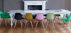 eettafel met verschillende stoelen - Google zoeken