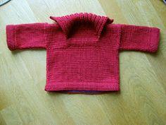 Rudyard baby sweater pattern by Malin Nilsson