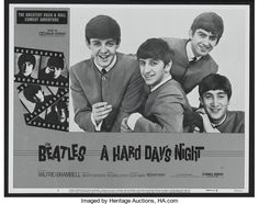 """Movie Posters:Rock and Roll, A Hard Day's Night (Universal, R-1982). Lobby Card (11"""" X 14"""").Rock and Roll...."""
