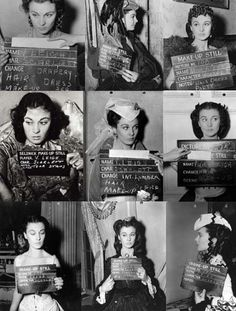Vivien Leigh. Gone With the Wind screen tests (1939) #margaretmitchell