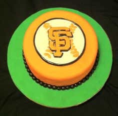 SF Giants cake for my sisters birthday