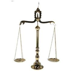 """24"""" Brass Apothecary Scale Balance - Scales of Justice - Rakuten.com"""