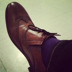 *My brogue shoes*