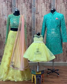 Mom Daughter Matching Outfits, Mommy Daughter Dresses, Mom And Baby Dresses, Mother Daughter Fashion, Little Girl Dresses, Baby Girl Lehenga, Kids Lehenga, Long Frocks For Girls, Kids Blouse Designs