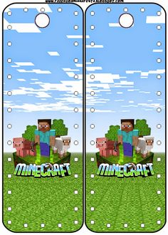 Minecraft: Party Free Printables, Images and Papers.