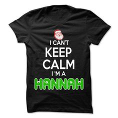 Keep Calm HANNAH... Christmas Time - 0399 Cool Name Shi - #tshirt makeover #sweatshirt zipper. CHEAP PRICE => https://www.sunfrog.com/LifeStyle/Keep-Calm-HANNAH-Christmas-Time--0399-Cool-Name-Shirt-.html?68278