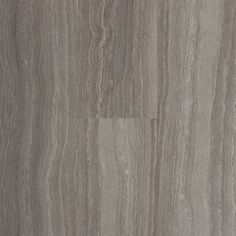 STAINMASTER 6-in x 24-in Groutable Chateau/Light Gray Peel-and-Stick Travertine…