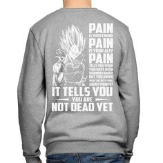 Super Saiyan Majin Vegeta Sweatshirt Shirt - PF00437SW