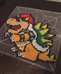 Bowser perler beads by theperfectperlers