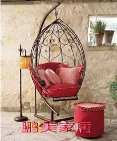 swing chair - I want to make one so badly.