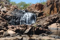 Northern Territory Australia - Edith falls  Good news friends you can go for a swim there :) Check our video log here https://www.youtube.com/watch?v=W2_8R2bjpOk  Follow our worldtravels @ YouTube: https://www.youtube.com/channel/UChRHeW8d008Snee3BCtx-Tw  #travel #world #waterfalls #australia