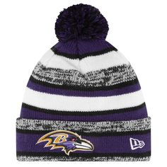 Baltimore Ravens '47 Toddler Yipes Cuffed Knit Hat - Black ...