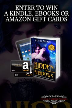 Win a Kindle Fire 7″, up to $20 in Amazon Gift Cards or eBooks from Bestselling Author Claire Grimes