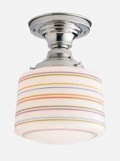 "School House Electric Newbury 4"" Surface Mount Ceiling Light"
