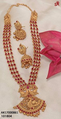 Elegant Fashion Wear Explore the trendy fashion wear by different stores from India Buy Gold Jewellery Online, Indian Gold Jewellery Design, 1 Gram Gold Jewellery, India Jewelry, Jewelry Design, Quartz Jewelry, Sea Glass Jewelry, Gold Jewelry, Fine Jewelry