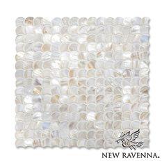 Scallops shell mosaic | The Studio Line | New Ravenna